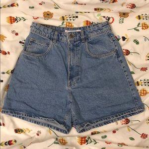 Zara Denimwear Trafaluc Jean Shorts with Pockets